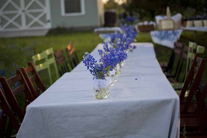 bluebonnet table