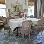 french-blue-dining-room