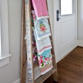ladder-towel-display